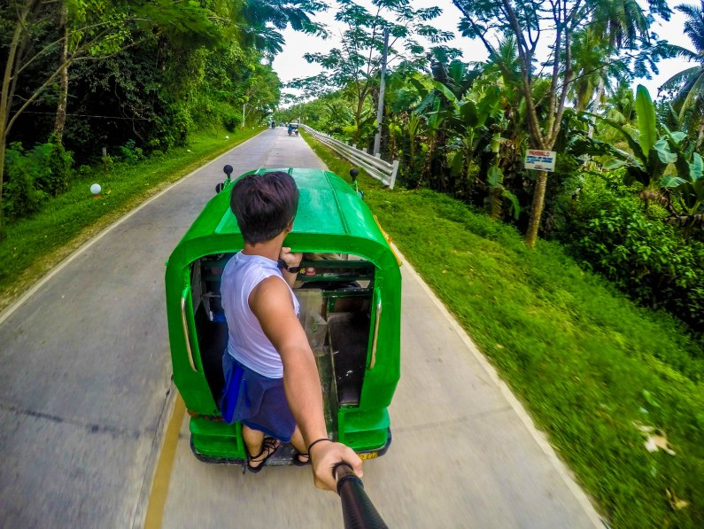Tricycle ride around Siargao Island