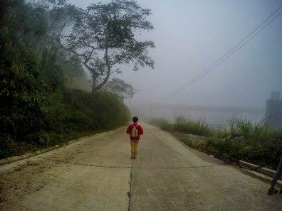 just a regular afternoon fog at Dinosaur Island, Baguio
