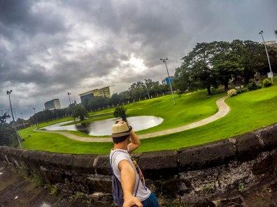 Golf course in Intramuros