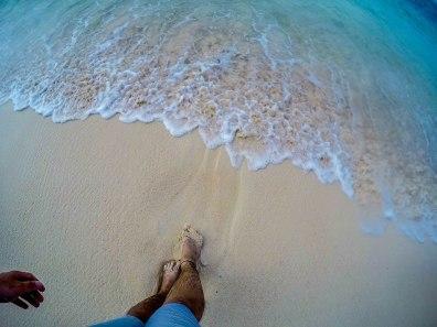 Beach side in Daku Island, Siargao