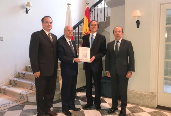 Presentation of the reissue of the book on the Universal Tribute to the Spanish Language