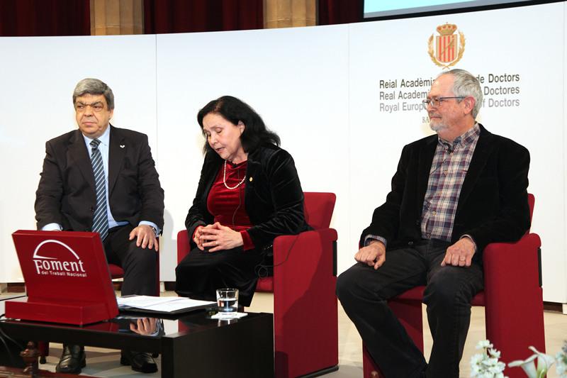 Dr. Javier Aranceta, Dra. Maria Àngels Calvo y Dr. Miquel Moretó