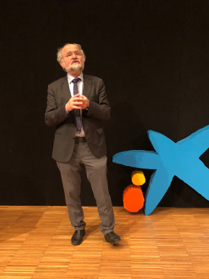 Conferencia del Dr. Erwin Neher en CosmoCaixa (BCN)