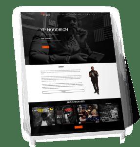 YP Hoodrich - Rap Artist Website