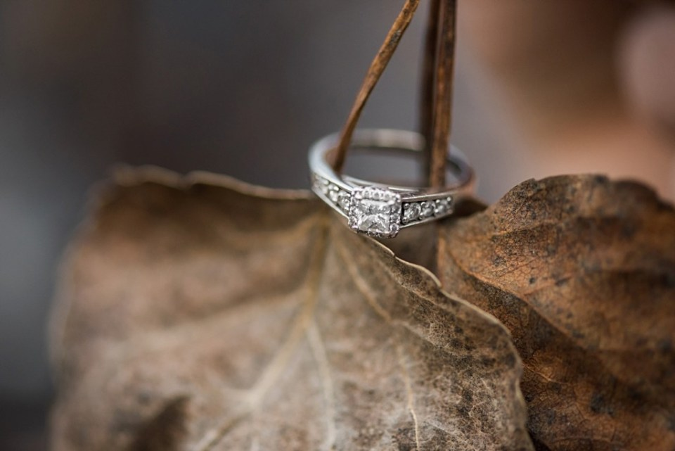 Stettler Engagement - Ring Shot - Raelene Schulmeister Photography