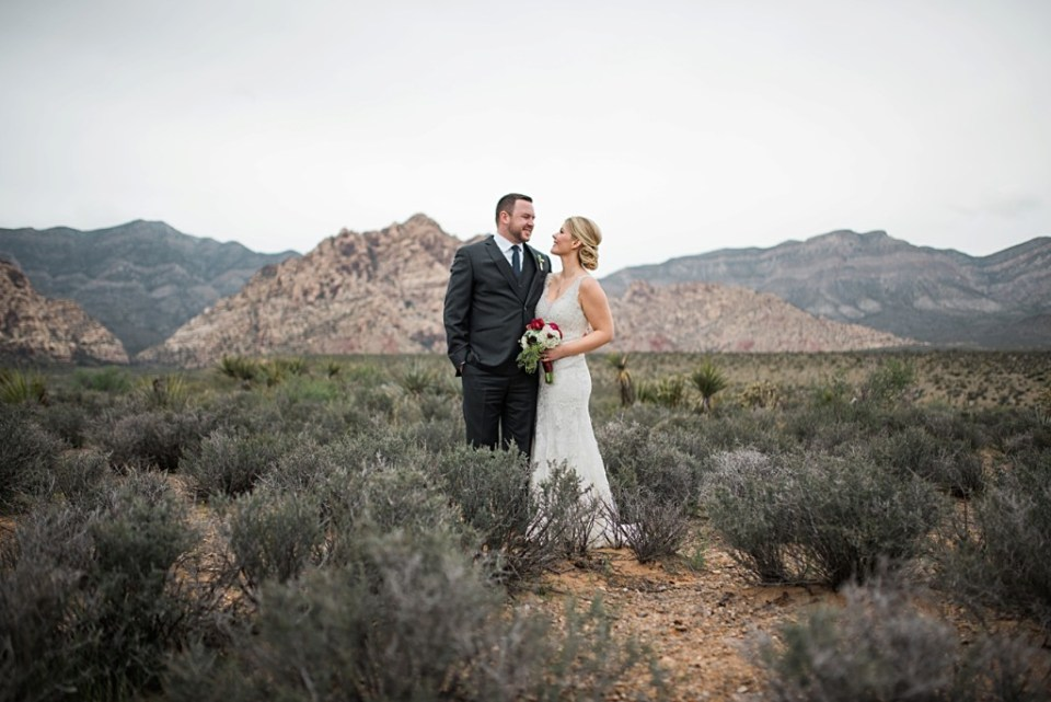 Romantic elopement in Red Rock Canyon, Nevada-Red Deer photographers-Raelene Schulmeister Photography