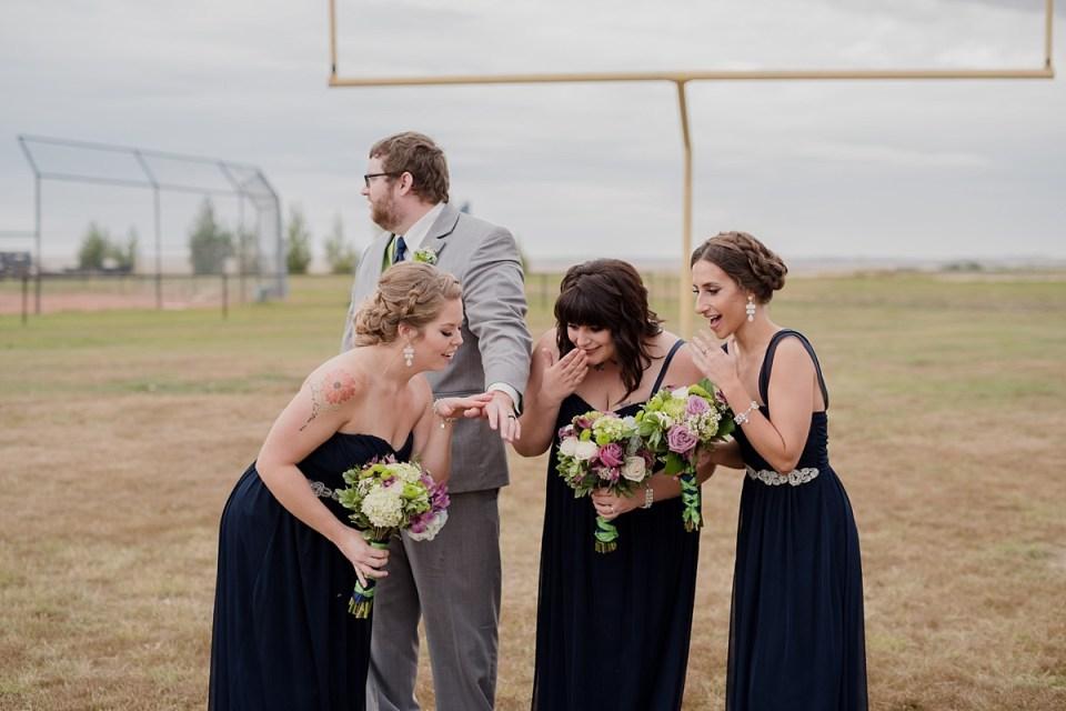 Eatonia Community Hall Wedding | Saskatchewan Photographers | Amanda and Blair