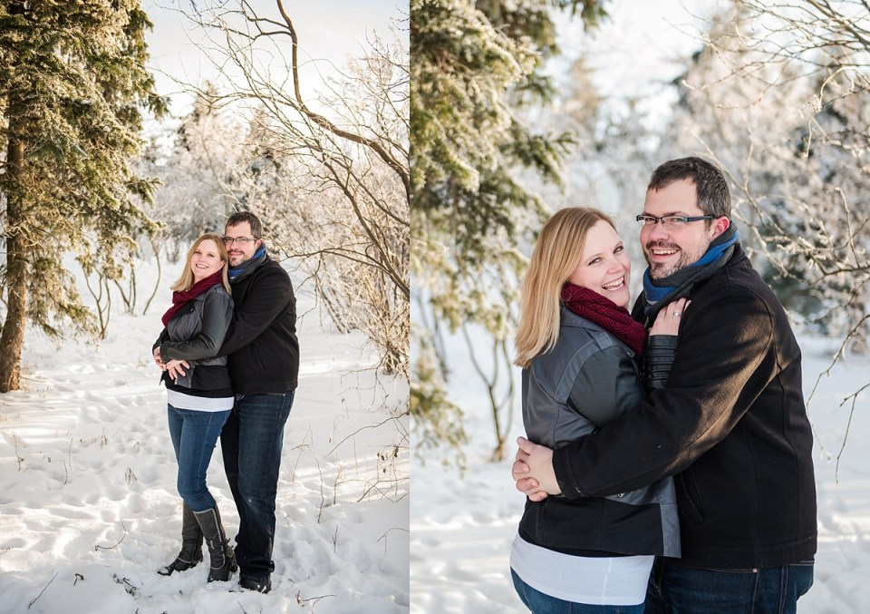 Winter Photos on the Farm | Stettler Photographers | Solick Seeds