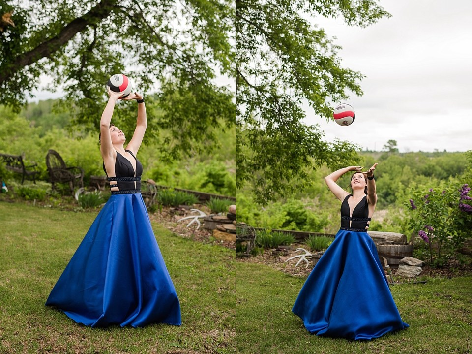 Grad photos at the Ball Diamond | Stettler Grad Photos | Baseball field | Women's softball |