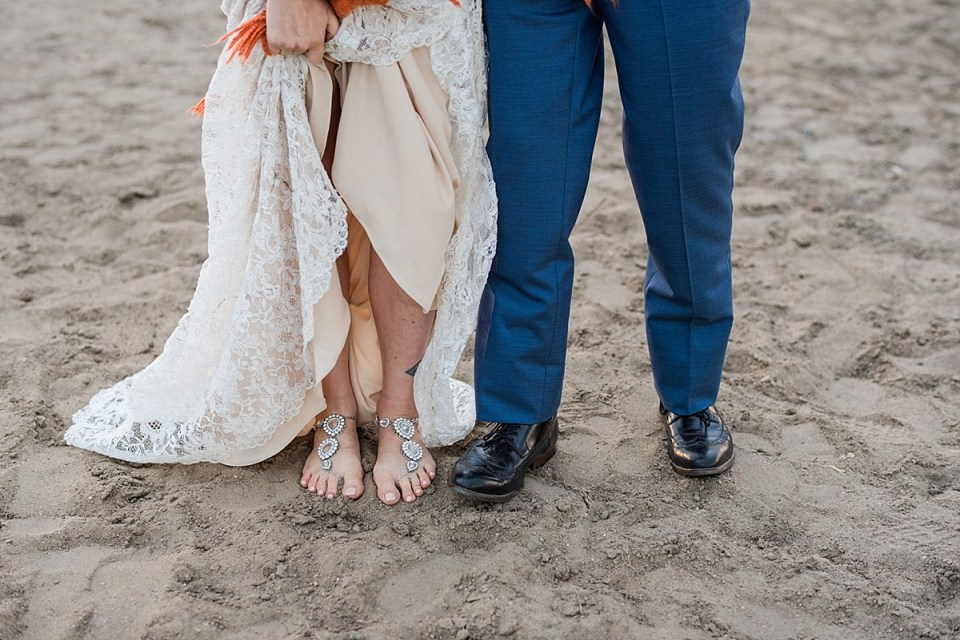 Romantic Aspen Beach Wedding | Red Deer Photographers | DIY Central Alberta Wedding