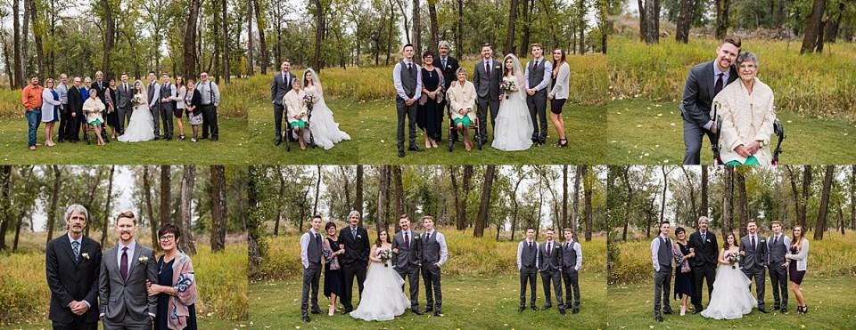 Cottonwood Golf and Country Club Wedding | Calgary Wedding Photographers | Fall Wedding at Cottonwood