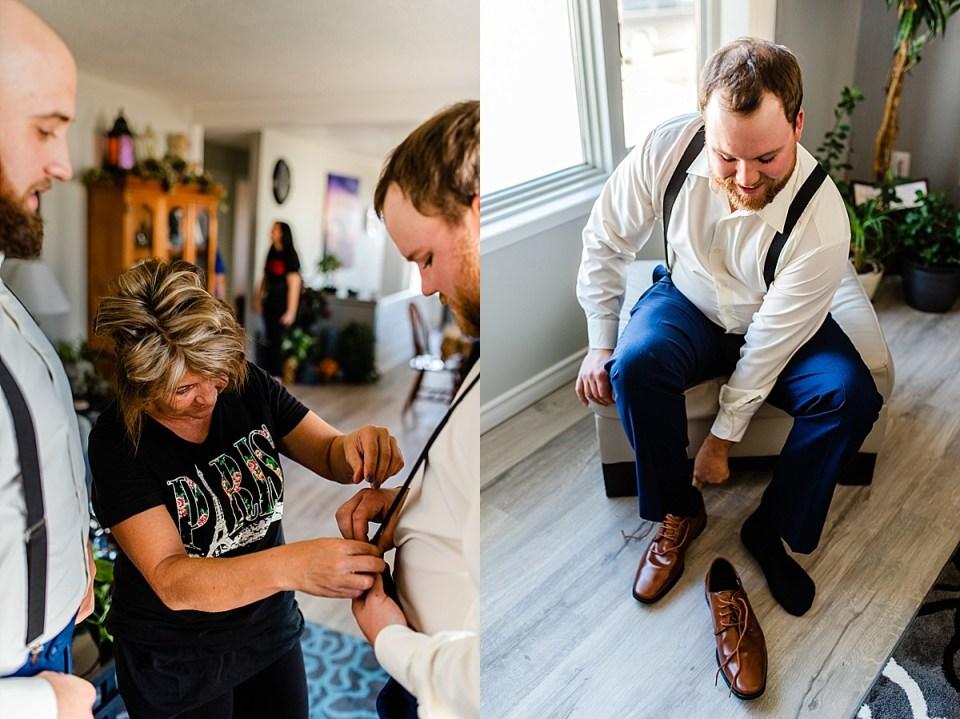 Navy Blue and Burgundy Fall Wedding | Eatonia, Saskatchewan | Kindersley Wedding Photographers