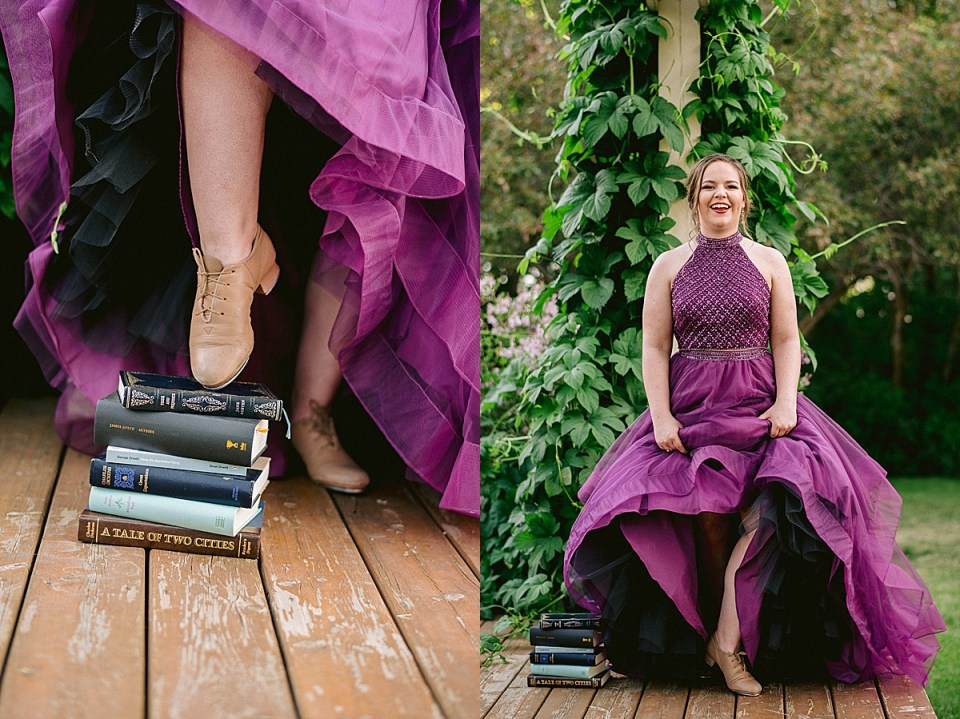 Breanna's Fun Grad Photos full of beloved pets, books and sports | Class of 2019 | Coronation School