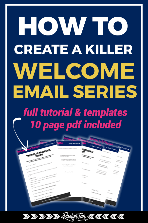 How To Craft A Killer Welcome Email Series Full Tutorial