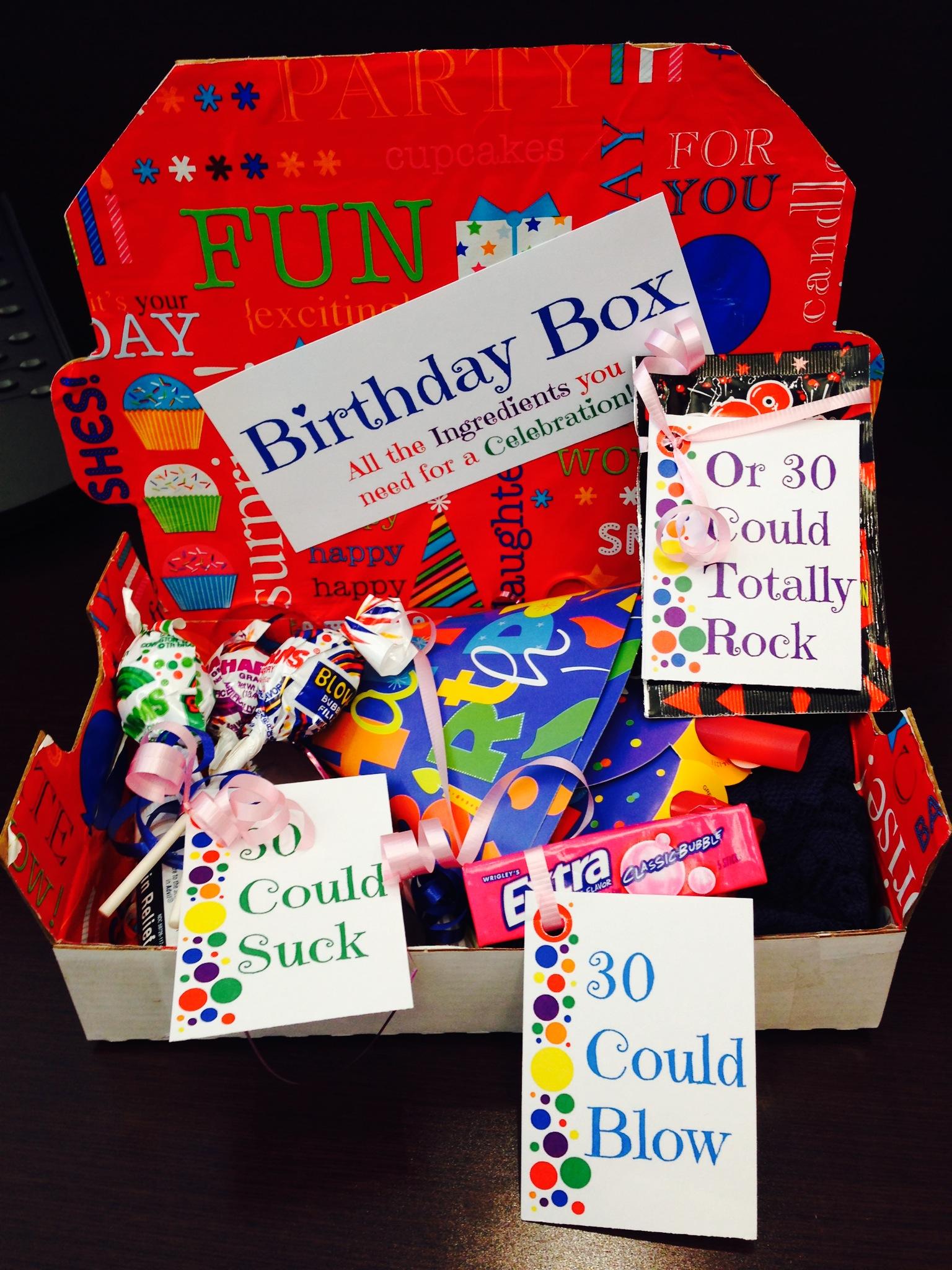Easy DIY Birthday Box!