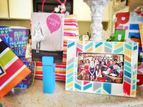 Birthday Decoration Ideas // Birthday Mantle // Rae of Sparkles