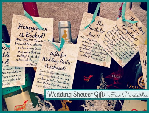 Wedding Shower Gift Idea // Free Printables // Rae of Sparkles