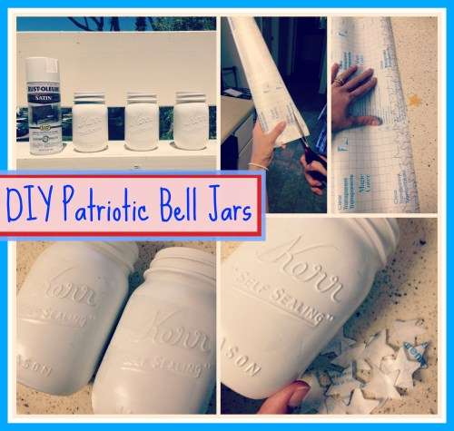 DIY Patriotic Bell Jars // Easy-to-Follow Instructions // Rae of Sparkles