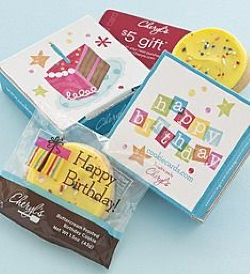 Birthday Gift Idea // Cheryl's Cookies