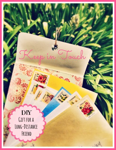 Keep In Touch // Great Gift for Long Distance Friends