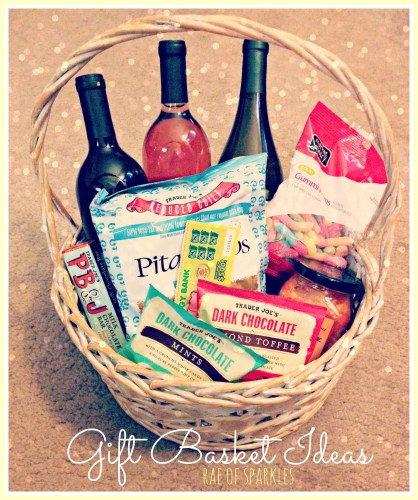Gift Basket Ideas; Hourly Gift Basket