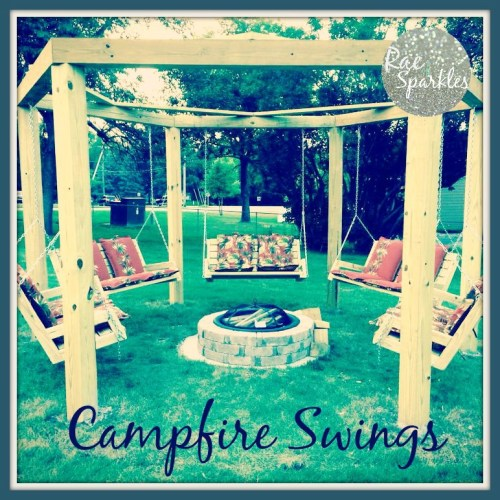 DIY Campfire Swings