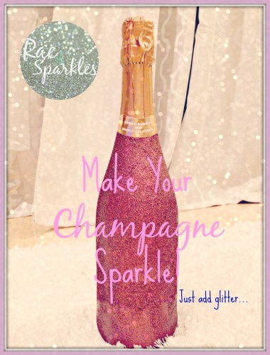 Sparkle Champagne or Wine Bottle Gift
