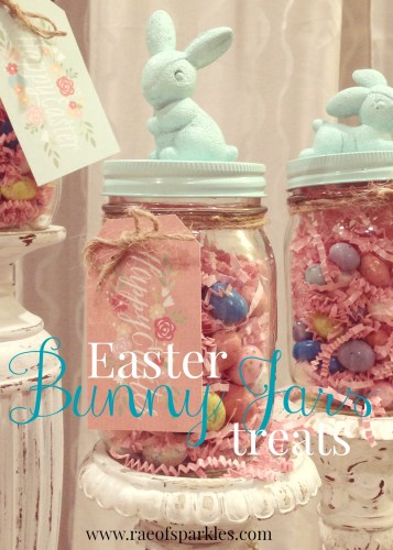 Easter Bunny Jars  Easter Treats  Bunny Jars  Party Favors  Rae of Sparkles