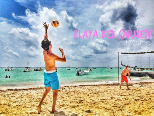 Playa Del Carmen, Mexico // Beach Volleyball