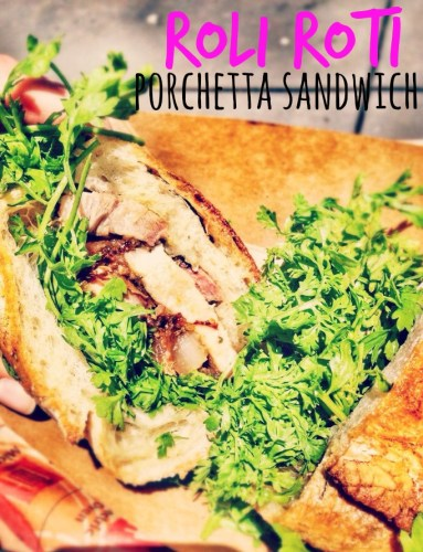Roli Roti Porchetta Sandwich, San Francisco, CA