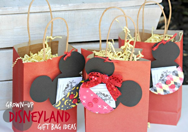 Grown-Up Disneyland Gift Bag Ideas