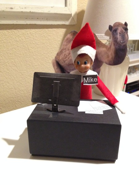 Elf on the Shelf - Geico Commercial, Hump Day Mike Mike Mike Mike