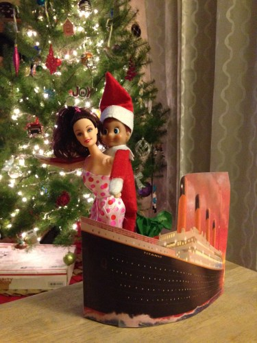 Elf on the Shelf - Titanic, Jack and Rose