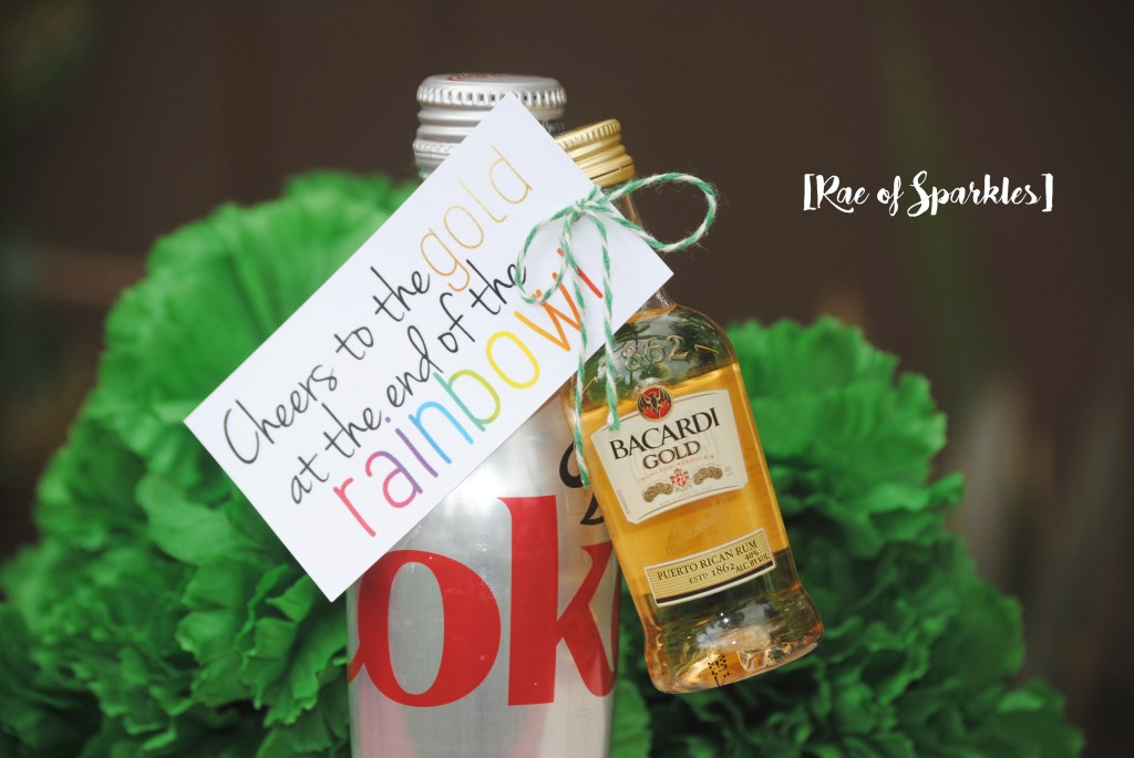St. Patrick's Day Gold - Find the Gold at the end of the Rainbow - Rum and Coke
