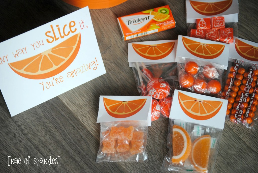 Orange Gift Basket Ideas - Perfect Congratulations Gift