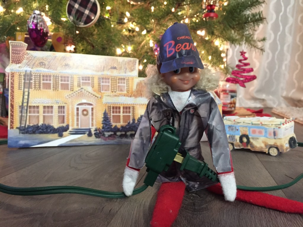 Elf on the Shelf - Clark Griswold Christmas Vacation