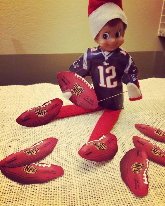 Elf on the Shelf - Tom Brady and DeflateGate