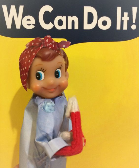 Elf on the Shelf - We Can Do It!