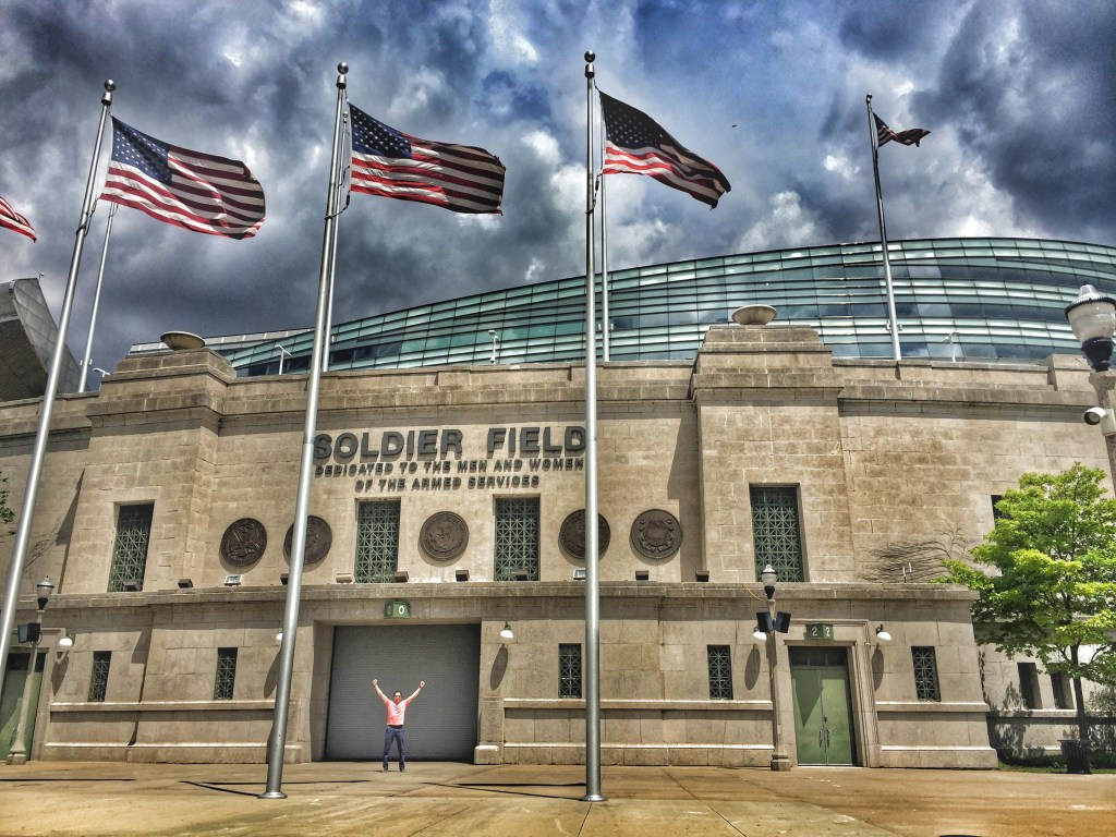 A Day in Chicago - Soldier Field