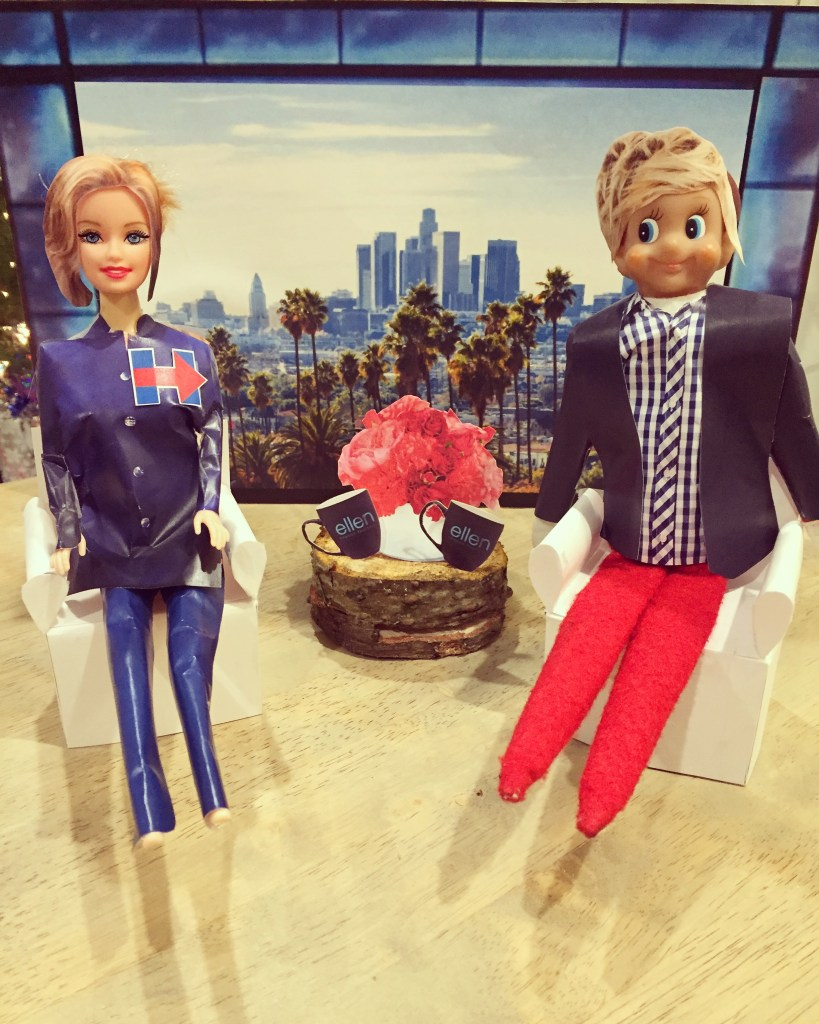 Elf on the Shelf - Ellen Degeneres