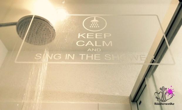Shower Plott // Raeuberwolke.ch - Lebe Bunt.