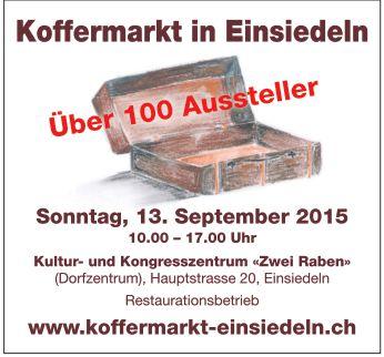 Koffermarkt Einsiedeln 13.09.15