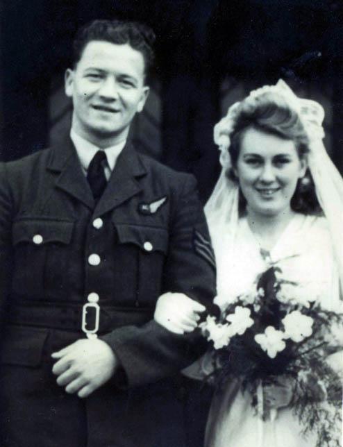 John Killen wedding day