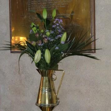 Memorial Tablet, St Cadmarch Churchch