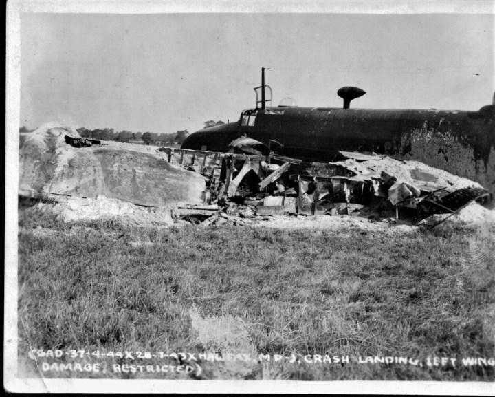 crashed Halifax bomber-2