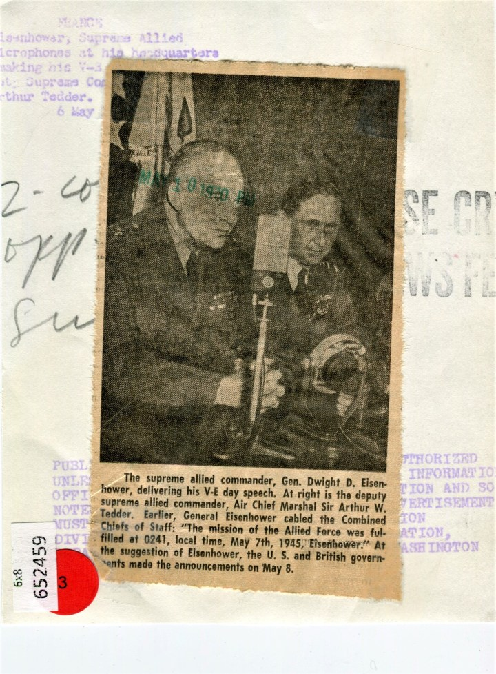 Eisenhower and Tedder 2