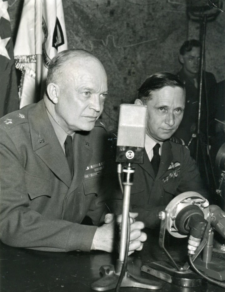 Eisenhower and Tedder