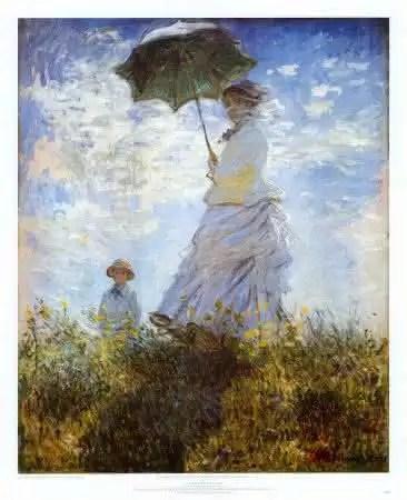 Uma pintura de Monet