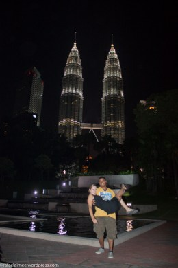 petronas from KLCC park