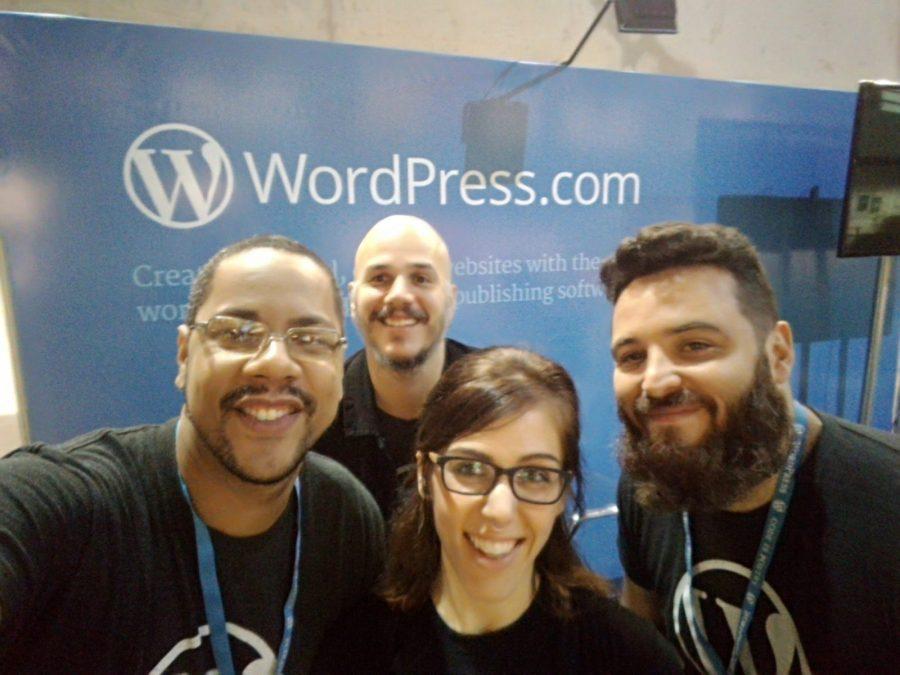 Equipe WordPress.com na UX Conf BR